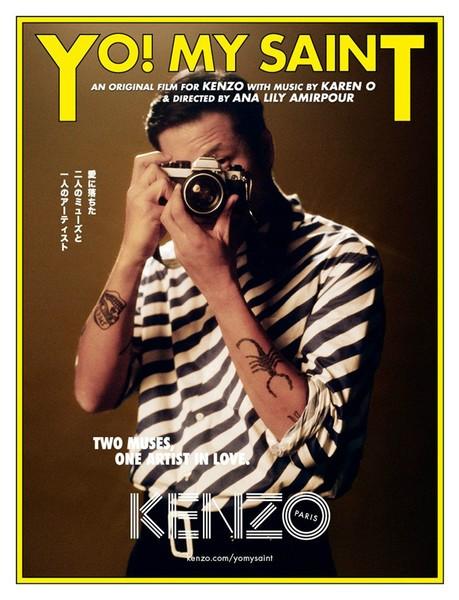 《Kenzo摄影MV:Yo! My Saint》