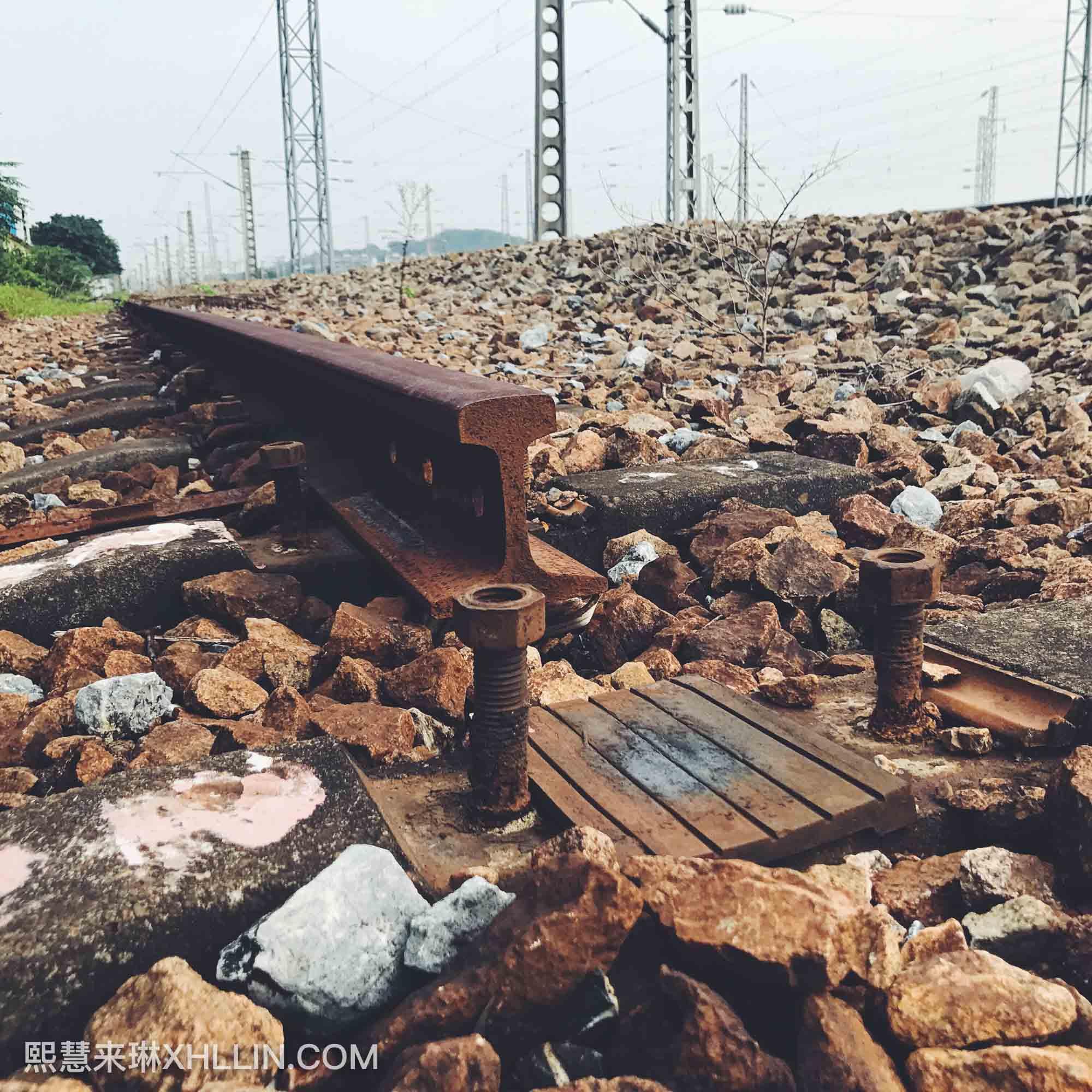 《手机摄影中的铁路生活》