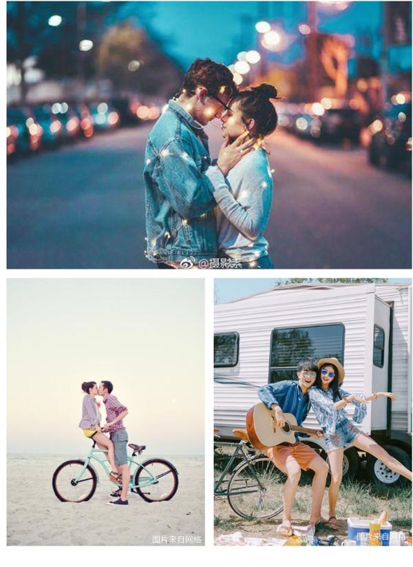 《情侣拍照的姿势POSE大全,总有一款适合你》