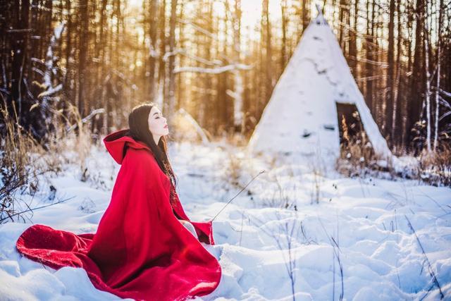《冬天雪景人像拍照摄影技巧教程》